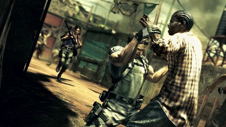 The colour of Resident Evil's zombies raised concern.