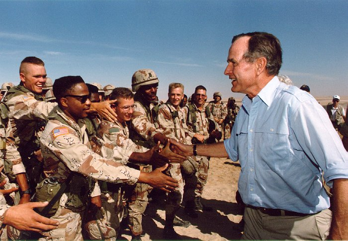 george-bush-us-troops