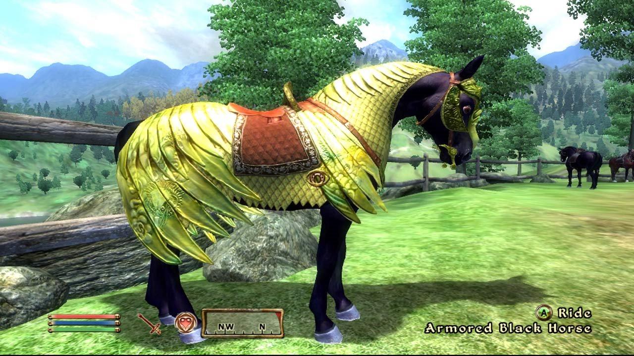 oblivion-horse-armour