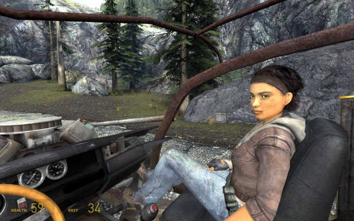 9. Alyx Vance (Half Life 2) - Lakebit