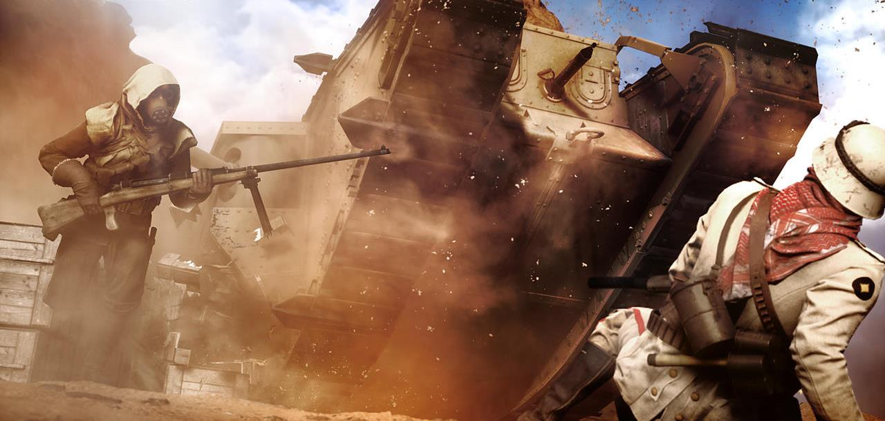 battlefield-1-tank-charge