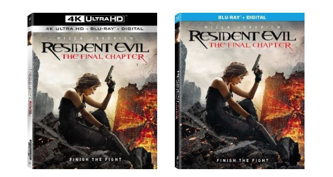 Resident Evil The Final Chapter Abigail Featurette: These Are The Bonus Materials Featured In Resident Evil