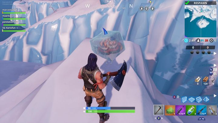 Fortnite Season 7 Week 6 Challenges Revealed Search Chilly Gnomes