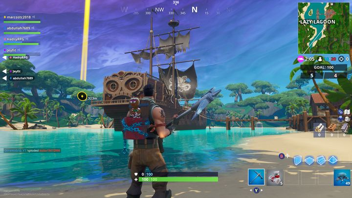 Fortnite bow and arrow season 8 release date