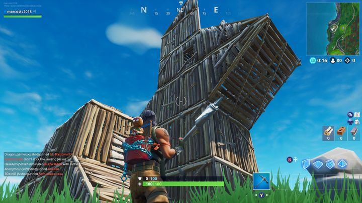 advertisement - where is wooden rabbit in fortnite